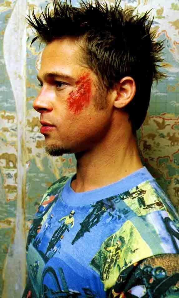 Brad Pitt Fight Club Workout Face & Chest   Men's ...