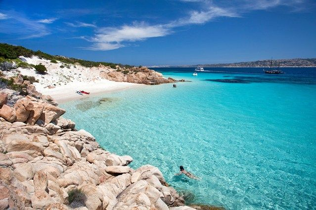 For clear, warm waters and beaches all to yourself, head to the islands off Sardinia's Costa Smeralda