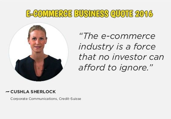 If you are an investor, you can't ignore the force of e-commerce.
