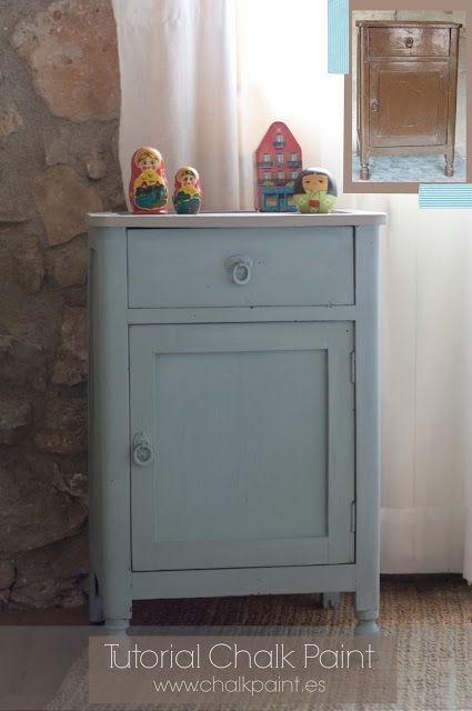 Tutorial de Auténtico Chalk Paint y venta en España