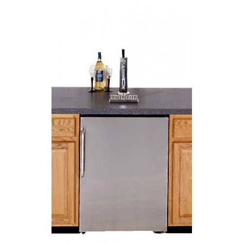 Summit Undercounter Kegerator with S/S Door Panel - Kegerators - Bar Equipment $1235