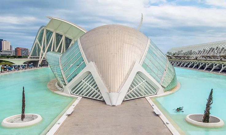 VIDEO City of Arts and Sciences, un #timelapse su #Valencia di Ricky Loca   #Spagna