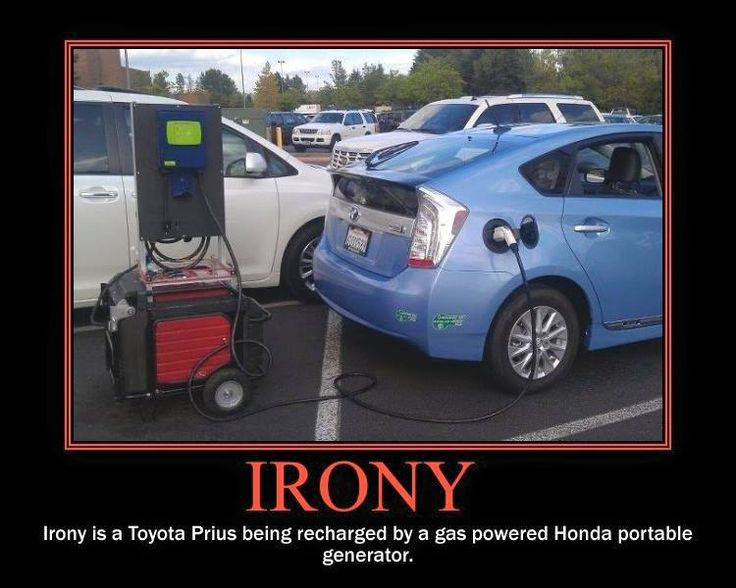 The Irony of a Prius - Hot Car Memes