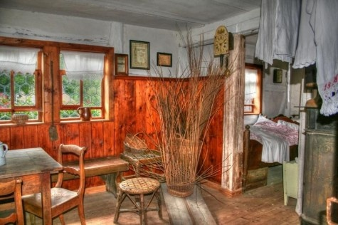 Interior Of An Old German House Other Fantasies