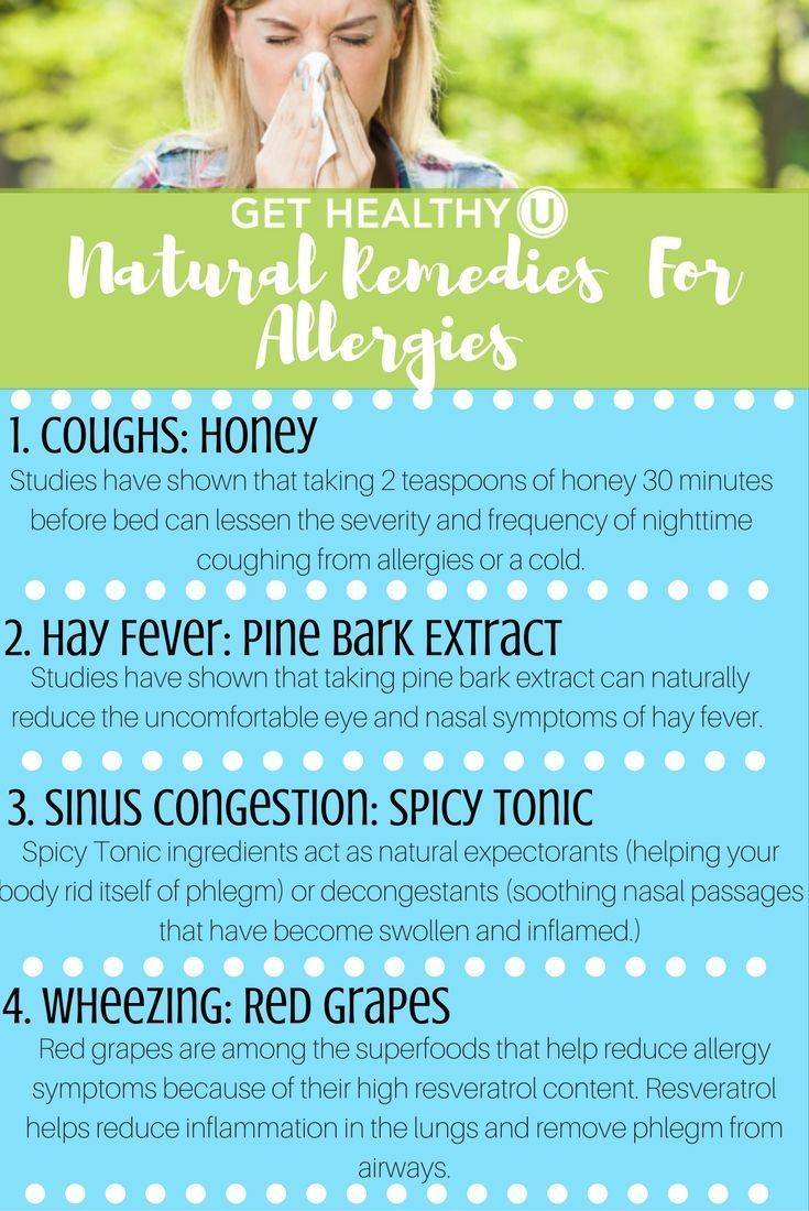 How To Get Rid Of A Hay Fever Cough