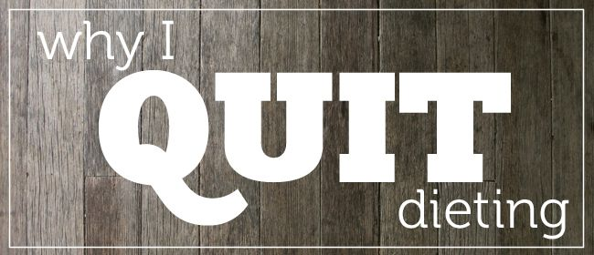 "Why I quit dieting - by Amber (thank you to Michelle Allison aka ""The Fat Nutritionist"" for posting this on Facebook).Plants Life, Lose Weights, Diet Bodypositiveyoga Com, Body Positive, Fantastic Blog"