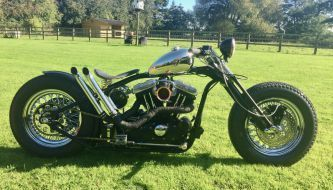 Harley Davidson Hardtail Custom Bobber Chopper #harleydavidsonbobberssportster