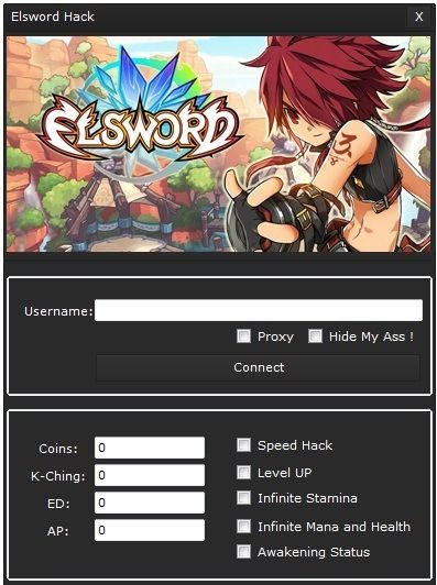 The new Elsword K-Ching and Coins Generator it's available for download. Elsword K-Ching and Coins Generator is working, updated with zero downtime.