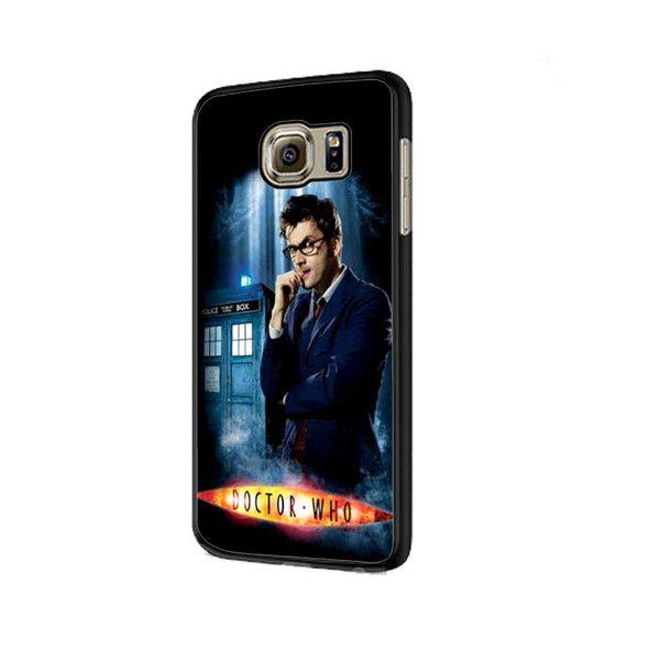 DOC WHO DAVID TENNANT Samsung Galaxy S6 | S6 Edge Cover Case