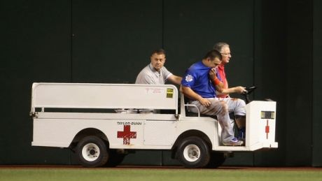 Cubs' Kyle Schwarber out for season with torn knee ligaments