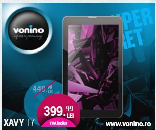 Xavy T7 - VONINO - Inspired by Technology | Tablete PC * TV Box * Media Player * GPS * Network &... Vonino is a registered trademark of Vonino Inc. All rights reserved. © 2014 Politica de confi...
