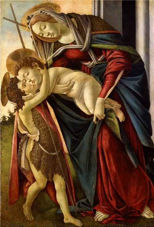 The Madonna and Child with the Infant Saint John the Baptist Florence, the 1480s…