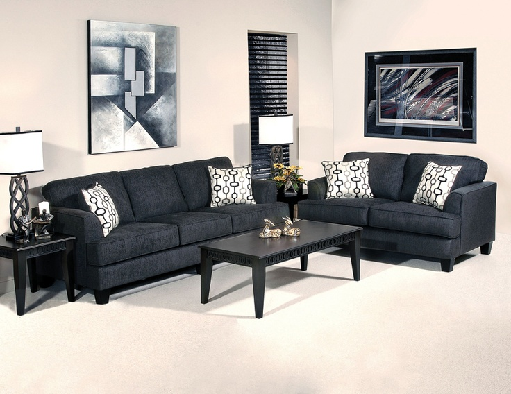 The Soprano Ebony Living Room Set From Kimbrellu0027s. Beautiful And Daring!  #home #