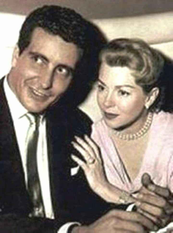 Lana Turner y Johnny Stompanato
