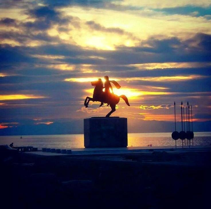 Alexander the Great,Thessaloniki, Greece