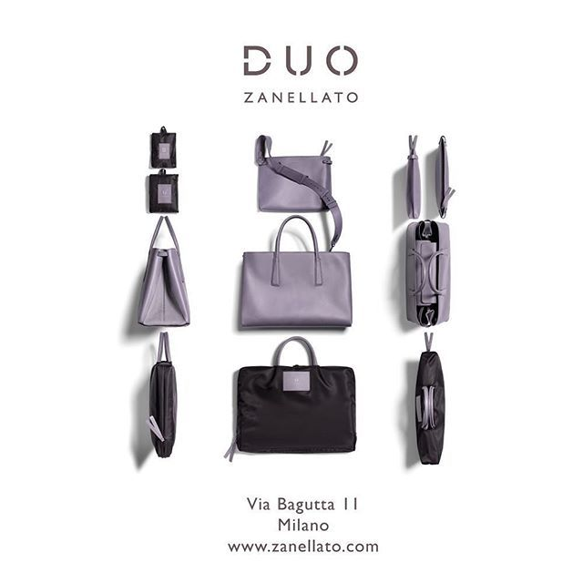DUO: WE ARE READY! Now available on Zanellato Official Store and Zanellato Boutique in Milan #duozanellato