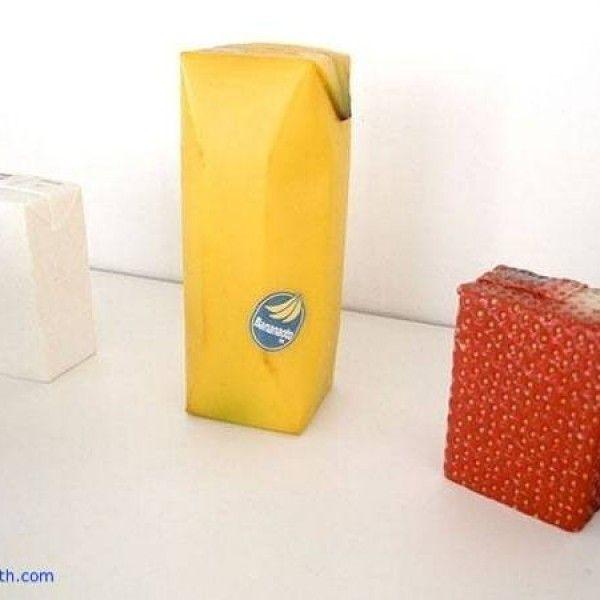 Fruit juice skin packaging