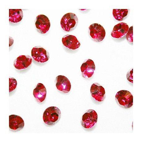 Chatón de cristal deSwarovski, medida 8,16mm de diámetro. Estos cristales son compatibles con las bases colgantes o conectores para cristal de 8,16mm de zamak bañode platao dorado.