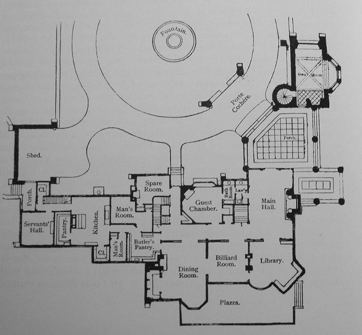 f46fa53e108101ffd2e370606b1ad3c1  architectural floor plans gilded age