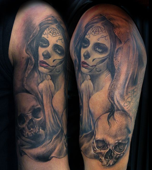 29 best images about tattoo ideas on pinterest the skulls sleeve and day of the dead. Black Bedroom Furniture Sets. Home Design Ideas