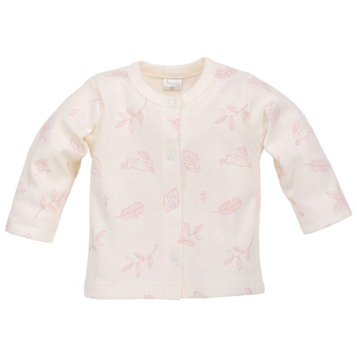 • Kaftanik niemowlęcy dla dziewczynki z Kolekcji Colette w kolorze ecru - Ubranka dla niemowląt - Sklep Polskie Dzieci