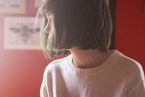 Imagem de girl, hair, and vintage