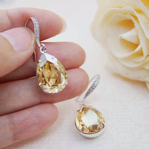 Wedding Jewelry Estate Style Earrings Bridal by earringsnation, $29.80