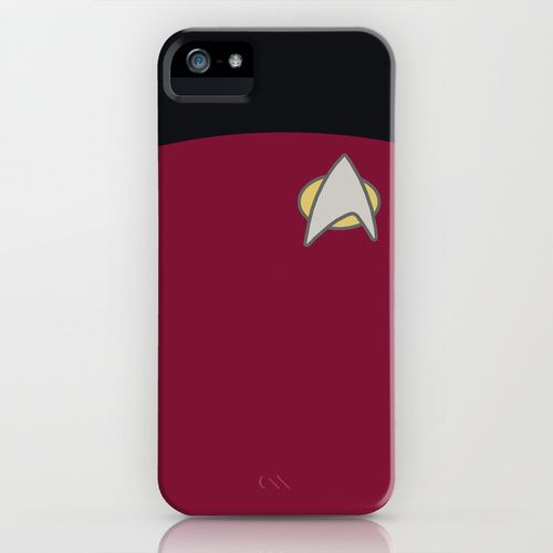 Omg I love it...but it's a red short...and Star Trek ppl in red shorts always die...I have mixed feelings about this case...