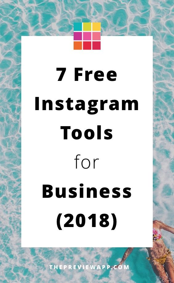 Free Instagram Tools for businesses in 2018. #instagramtips #instagrammarketing #instagramforbusiness