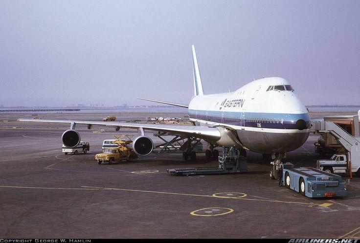 Eastern Airlines Boeing 747-121 N735PA c/n 19642 JFK March ...