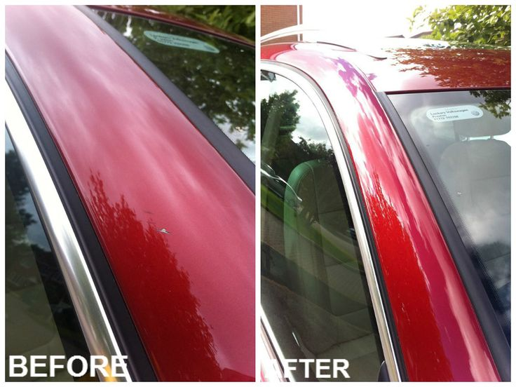 Josephs Volkswagen before and after using Chipex touch up paint. http://www.chipex.co.uk/vw-touch-up-paint/