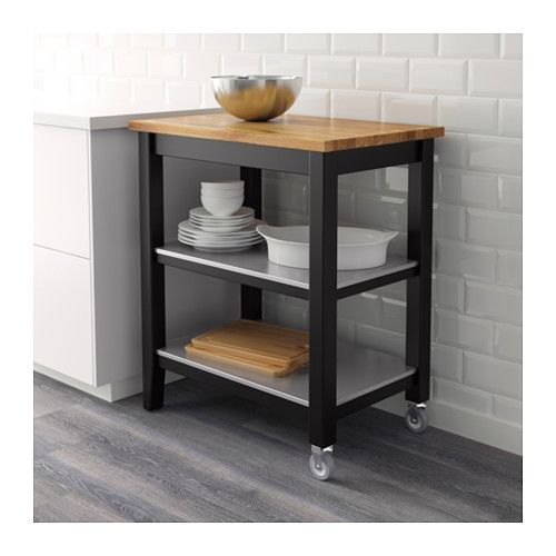 IKEA STENSTORP kitchen trolley Gives you extra storage, utility and work space.