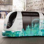 Un micro-bus sans conducteur testé à Londres