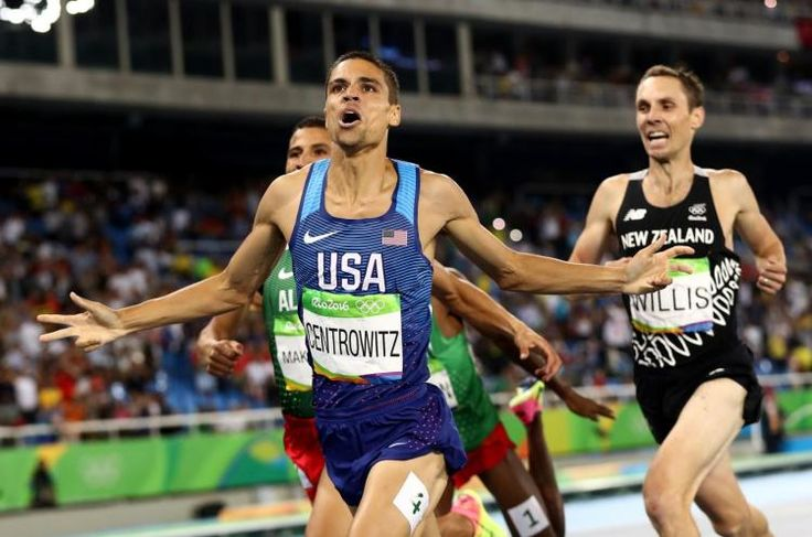 """Doing my victory lap, I literally kept screaming to everyone I know, 'Are you kidding me?""' Matthew Centrowitz, Jr. said. His Dad prepared him well: From 4:10 to 3:50: 1500M Rio GOLD Medal Champion.  #stellar 8/20/16"