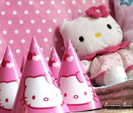 Anniversaire Thème Hello Kitty