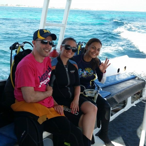 Open Water Diver PADI Certification in Cancun #Diving #Cancun