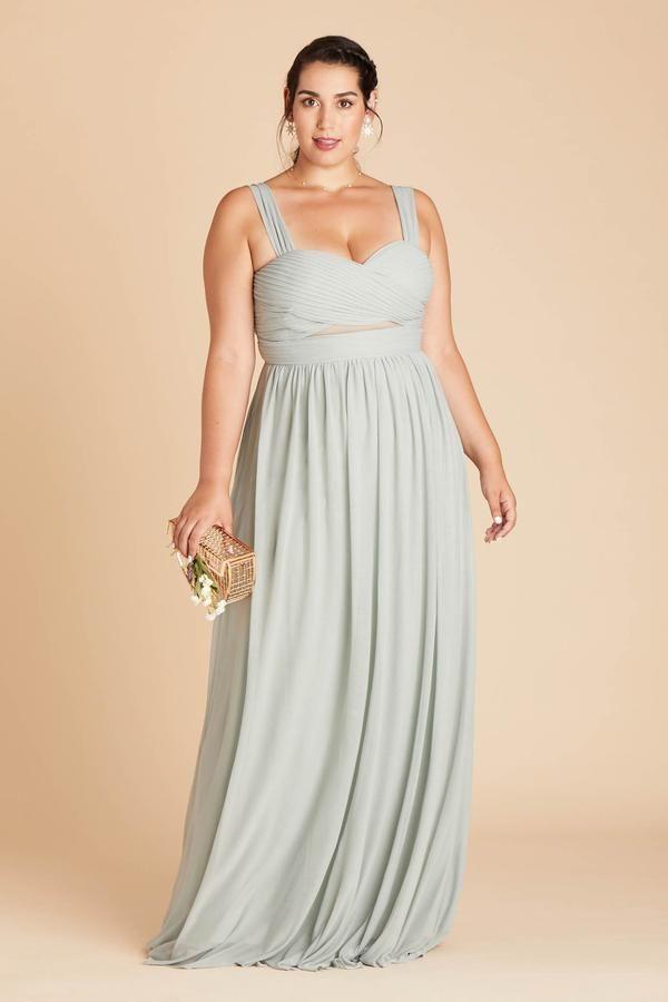 Sage Green Bridesmaid Dresses Under 100 Birdy Grey In 2020 Bridesmaid Dresses Plus Size Dresses Plus Size Bridesmaid