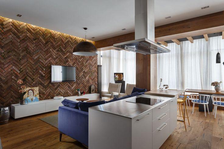 A Bright & Modern Apartment in Ukraine: SHHH… by Svoya Studio