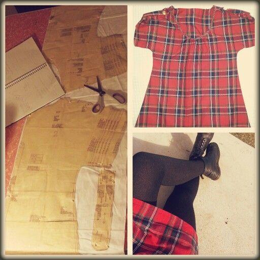Tartan dress / shirt.