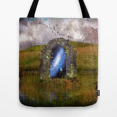 The arch of the universe Tote Bag by Oscar Tello Muñoz - $22.00