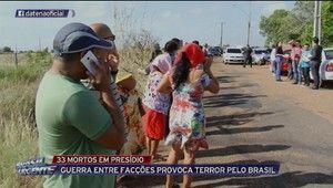 Galdino Saquarema Noticia: 33 presos são mortos em presídio de Roraima