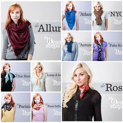 10 Style Tips On How To Wear and Tie A Scarf For Any ...
