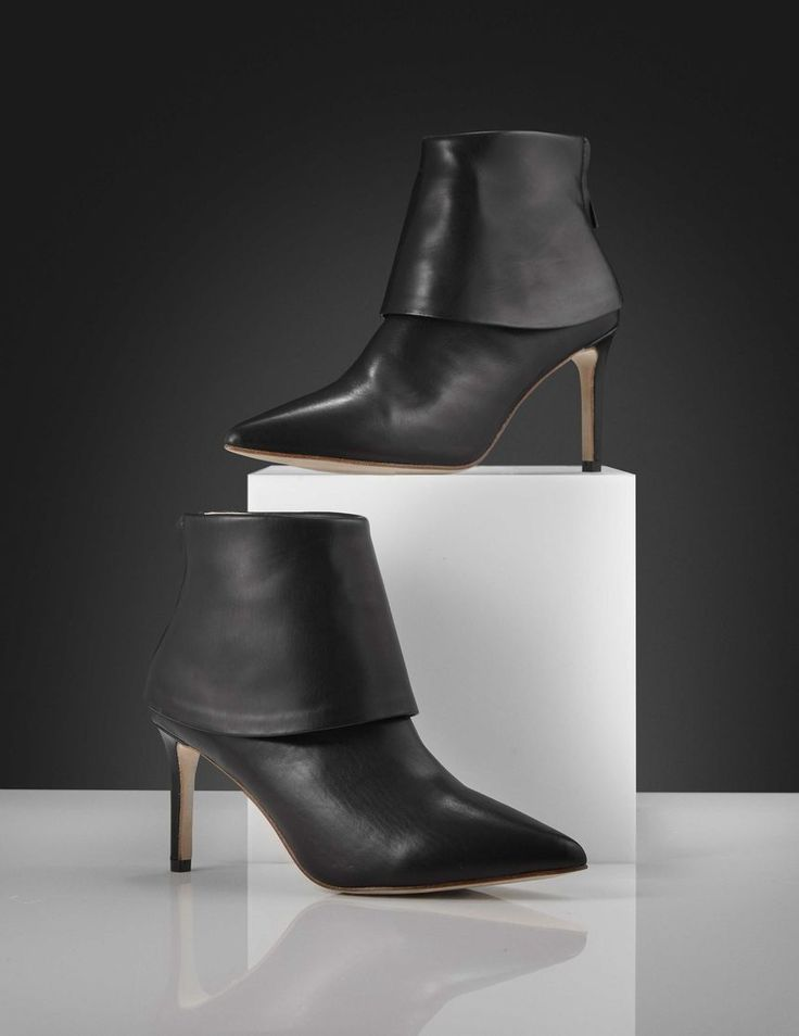 Puget boots-Women's ankle boot in calf leather with calf lining. Features a double-layered shaft and metal zip fastening at back of heel. Full leather interior. Full leather outsole. Heel: 8cm.