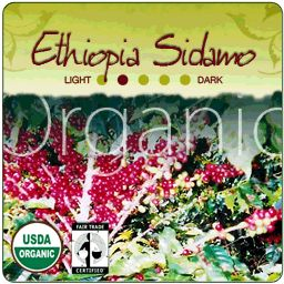 Ethiopia Sidamo Fair Trade Coffee Beans - buy direct from the people, savour the ancient tradition of coffee from its birthplace