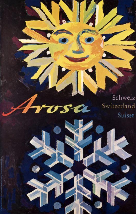 Arosa, Schweiz, Switzerland by Wolfgang Hausamann 1960