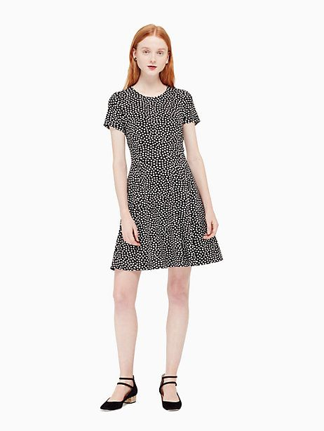 spot ponte dress | Kate Spade New York
