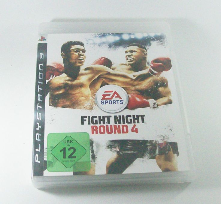 Fight Night Round 4 #Playstation 3 ( #PS3 ) KOMPLETT mit Anleitung #FightNight #EASports