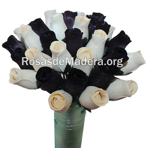 Ramo de rosas #moderno, #decoración, #gótico #rosasdemadera Comprar en www.rosasdemadera.org