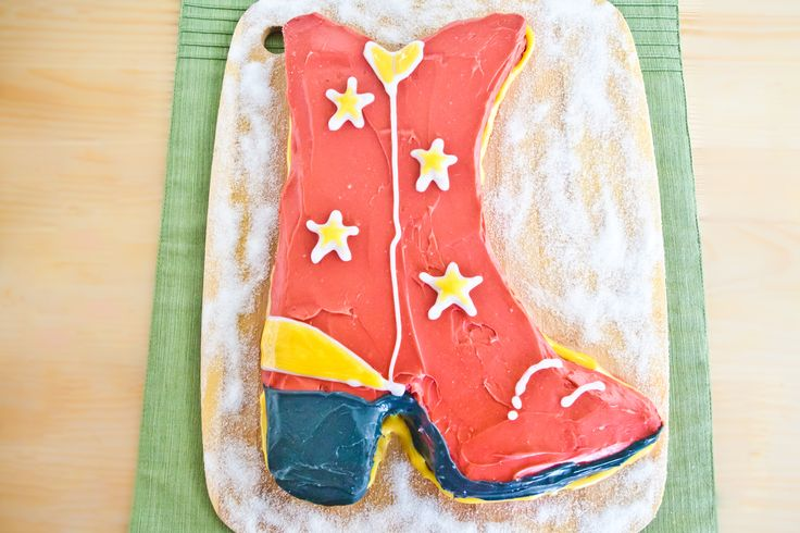 How to Make a Cowboy Boot Cake