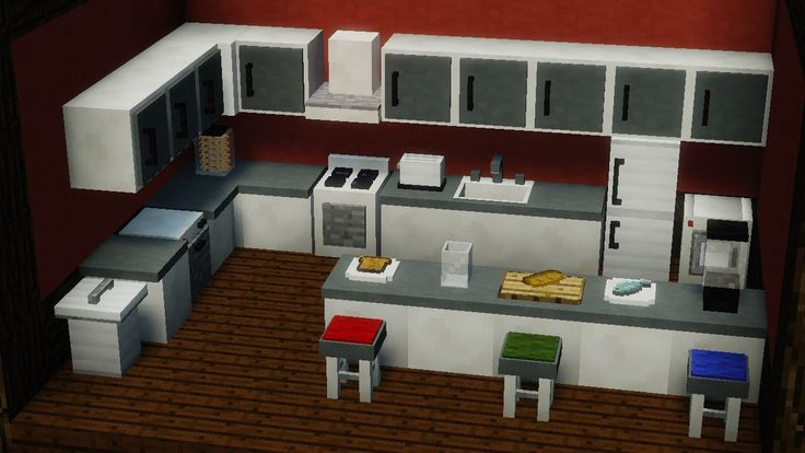 The MrCrayfish's Furniture Mod for Minecraft 1.9.1 offers more than forty unique types of furniture for a player to furnish their home with, many of which having a function as well.